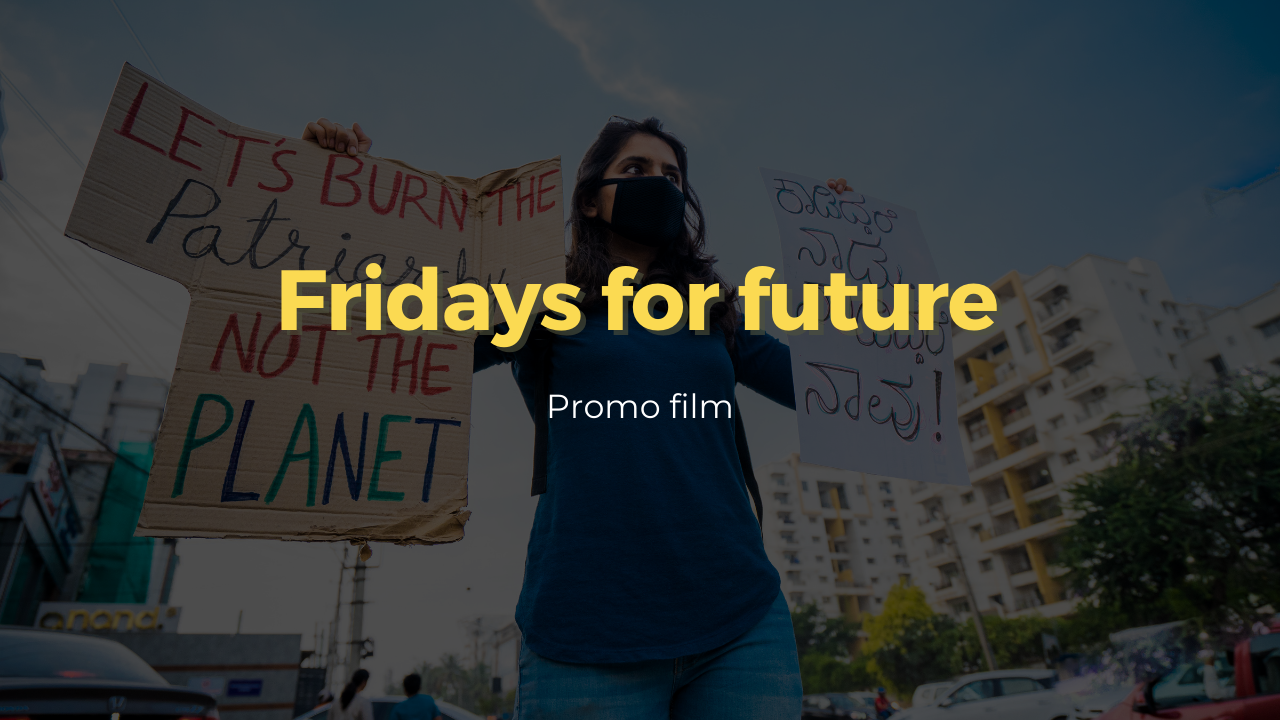 Fridays for future - social media video - thumbnail