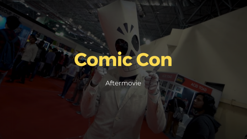 comic con - event video - production - thumbnails2